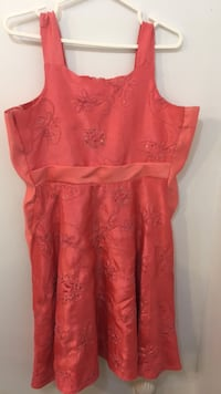 Women's red floral sleeveless dress (read description) Richmond Hill