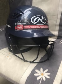 RAWLINGS Baseball helmet with cage Langley, V1M 1Z1