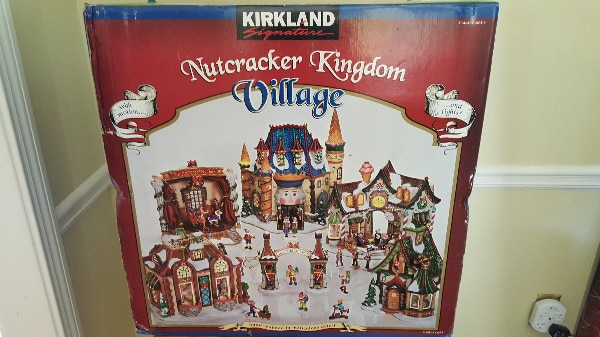 kirkland signature costco nutcracker kingdom christmas village