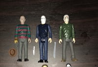 Fourteen horror  action figures Centre Hall, 16828