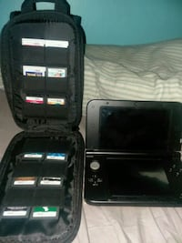 Nintendo 3DSXL with case and games Midlothian, 60445