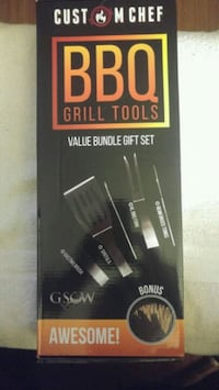 BBQ Grill Tools by Custom Chef, New Long Beach, 90806