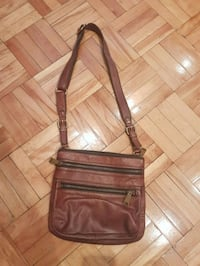 Fossil real leather crossbody purse Montreal, H3M