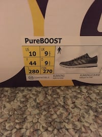 Grey pure boost Vancouver, V5N