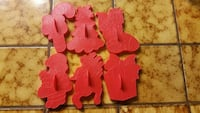 Christmas cookie cutters, all six for $5 Tracy, 95304