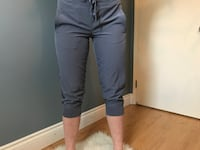 cropped grey joggers, size small Sherwood Park, T8A 2H9
