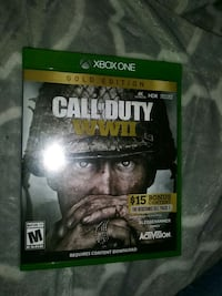 Call of duty ww2 xbox one game Rochester, 03867