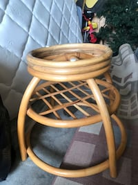 Bamboo side table North Vancouver, V7L