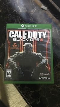 Call of Duty Black Ops 3 Xbox One game case Killeen, 76549