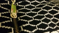 black and white area rug 558 km