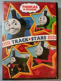 Thomas and Friends Track Stars dvd (New) Glen Burnie