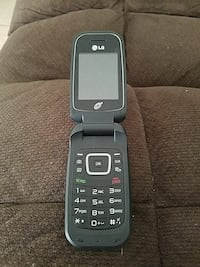 LG Navy blue cell phone Bakersfield, 93306