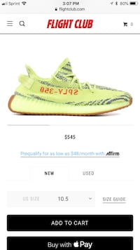 "Sz10 Yeezy boost 350 V2 ""Frozen Yellow"" Rockville, 20850"