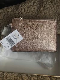 Michael Kors Money Pieces chic SM Gold rose coin purse