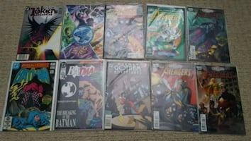 Assorted comic lot