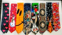 Collector Neck Ties 8 Total (mint) Port Dover, N0A 1N6