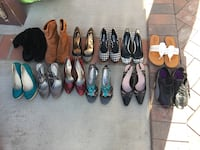 Size 6, 12 pairs of shoes for $80 Salinas, 93905