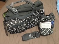 JJ Cole diaper bag and cooler bottle bag