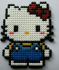 Hama beads Hello Kitty Madrid, 28044