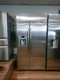 """42"""" GE PROFILE BUILT-IN STAINLESS SIDE BY SIDE Ontario, 91762"""