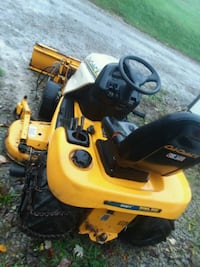 yellow and black Cub Cadet riding mower West Finley, 15377