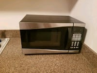black and silver microwave oven Ellicott City