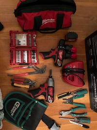 assorted-color-and-brand hand tool lot 27 km