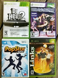 Xboc 360 and Wii Games Rocky Mount, 27804