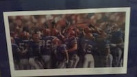 Signed football photo  Fort Myers, 33908