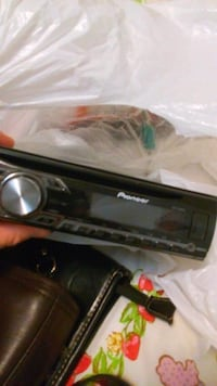 black Pioneer 1-DIN car stereo head unit Saskatoon, S7M