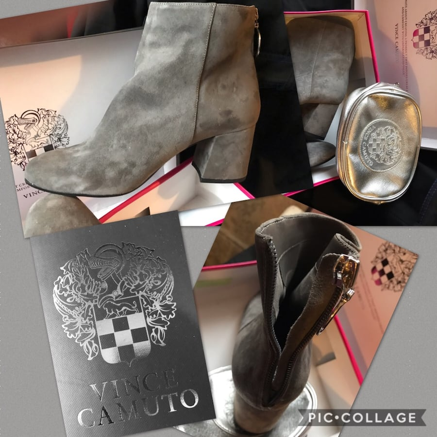 Vince Camuto booties size 10