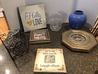 Lot of 7 Home Decorations $15 for all Manassas
