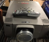 Eiki Home Theater Projector, Model# LC-X1100 Wheeling
