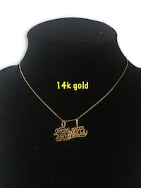 14k delicate necklace  Alexandria, 22304
