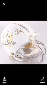 TOM BRADY SIGNED FULL SIZE HELMET TRISTAR AND STEINER COA LIMITED EDITION 2 of 50 Westwood, 02090