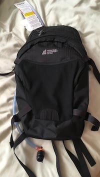 Black mountain equipment backpack 1302 km