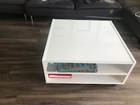 white and black wooden coffee table Arlington, 22201