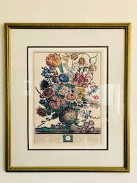 Beautiful Framed Picture  Los Angeles, 91303