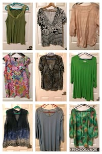 REDUCED Ladies - Size 1X Tops Edmonton, T5Y 3G1
