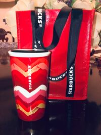 Starbucks Cup & Limited Edition Rare Tote NEW