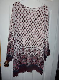size large tunic $10 Central Okanagan