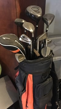 Power Bilt golf club set with caddy Chesapeake, 23322