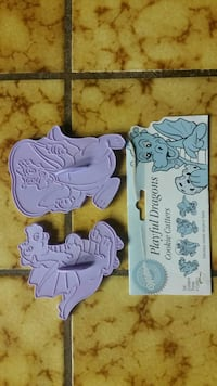 Wilton playful dragons cookie cutters, two for $3 Tracy, 95304
