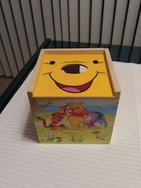 Winnie the Pooh wooden shape sorting cube. Chandler, 85225