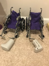 Wheelchairs for American dolls size Aldie, 20105