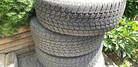 Great condition tires Abbotsford, V2T 5K5