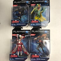 7 Playmation Action Figures ( 4 Avengers and 3 Villans) Indio, 92203