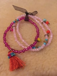 Three assorted-color beaded bracelets Saugerties, 12477