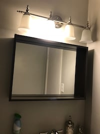 Bathroom Vanity Mirror, with shelf Arlington, 22204