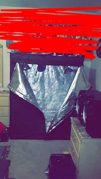 black and gray grow tent Youngstown, 44507
